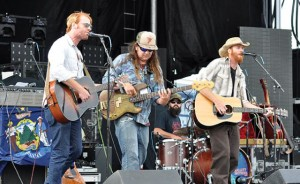 The Mallett Brothers Band will perform at the Kingfield POPS in June. (Heidi Murphy photo)